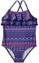 Carter's Baby Girl Tribal Ruffle One-Piece Swimsuit
