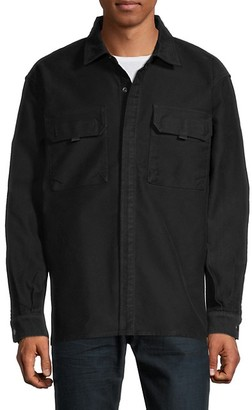 Hudson Solid Long-Sleeve Shirt