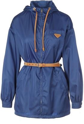 Prada Belted Windbreaker Jacket