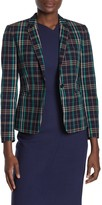 BOSS Jilesa Check Plaid Jacket