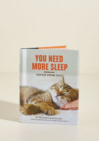 Chronicle Books You Need More Sleep: Advice from Cats