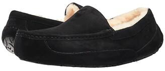 UGG Ascot (Black Suede) Men's Slippers