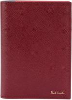 Paul Smith colour block passport case - men - Leather - One Size