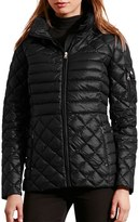 Lauren Ralph Lauren Women's Packable Down Jacket With Detachable Hood