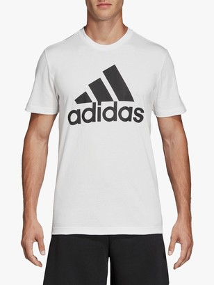 adidas Must Haves Badge Of Sport Training Top, White/Black