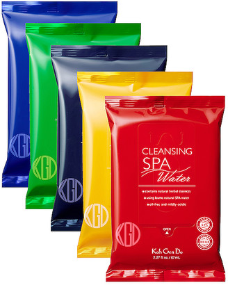 Koh Gen Do Spa Cleansing Water Cloth Relaxing Aromas Set