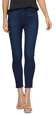 Paige Hoxton Skinny Ankle Jeans in Delphi