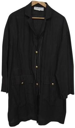 Byblos Black Linen Top for Women