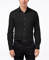 Alfani Men's Fitted Performance Solid Dress Shirt, Only at Macy's