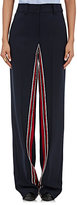 Cédric Charlier Women's Striped-Inseam Trousers-NAVY
