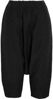 Studio Nicholson Tanaka cropped polka-dot crepe pants