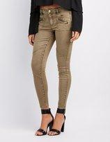 Charlotte Russe Refuge Skinny Cargo Jeans