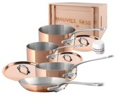 Mauviel M'Heritage - M'150S 7-Piece Copper & Stainless Steel Cookware Set