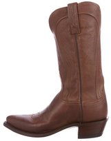 Lucchese Cowboy Mid-Calf Boots