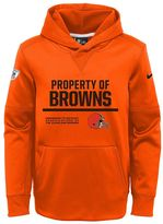 Nike Boys 8-20 Cleveland Browns Circuit Therma-FIT Hoodie