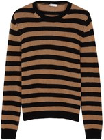 Valentino Striped Chunky-knit Cashmere Jumper