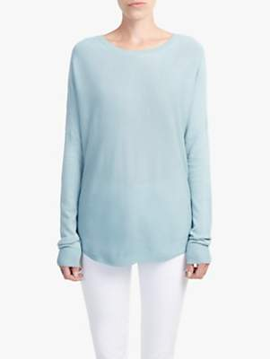 French Connection Scoop Neck Jumper, Jonah Blue