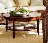 Pottery Barn Chloe Round Coffee Table