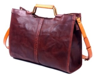 Old Trend Camden Leather Tote Bag