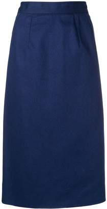Celine Pre-Owned straight midi skirt