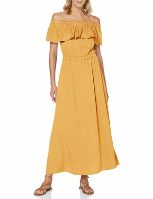 Only Women's ONLALMA Life VIS Offshoulder Dress Solid