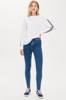 Topshop Womens Tall Mid Stone Joni Skinny Jeans - Mid Stone
