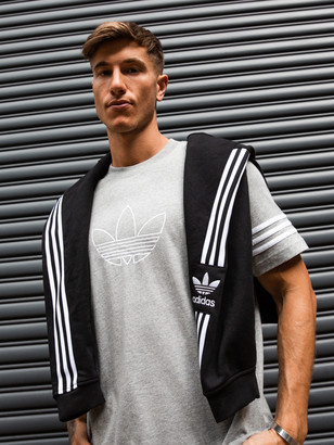 adidas Outline T-Shirt in Grey