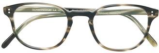 Oliver Peoples Fairmont square frame glasses