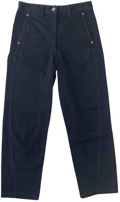 Lemaire Black Cotton Jeans