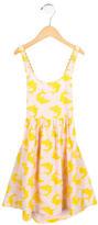 Stella McCartney Girls' Shark Print A-Line Dress