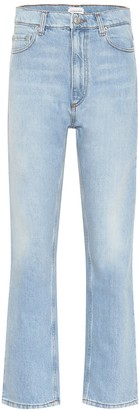 Magda Butrym Cropped high-rise flared jeans