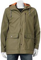 Izod Men's Classic-Fit Hooded Rain Slicker