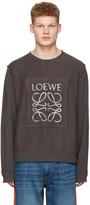 Loewe Grey Logo Pullover