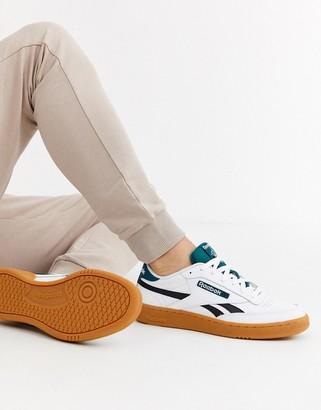 Reebok club c revenge sneaker with gum sole