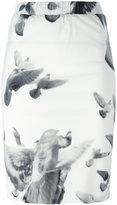 A.F.Vandevorst floral print pencil skirt - women - Silk/Lyocell - 36