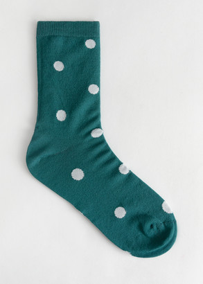 And other stories Polka Dot Ankle Socks