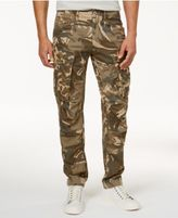G Star Men's Tapered Fit Camo Cargo Pants