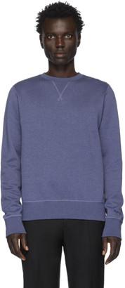 Ralph Lauren Purple Label Blue Fleece Madison Sweatshirt
