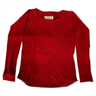 Maison Margiela Red Wool Knitwear