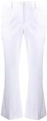 Alberto Biani Cropped Straight-Leg Trousers