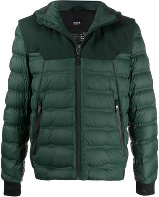 HUGO BOSS Quilted Padded Jacket