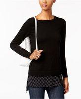 MICHAEL Michael Kors Layered-Look Sweater