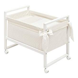 BEIGE Cambrass Small Bed/Crib (55 x 88 x 72 cm, Next Star