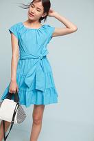 Eva Franco Tiered Poplin Swing Dress