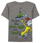 Dr. Seuss Toddler Boys' T-Shirt - Charcoal Snow