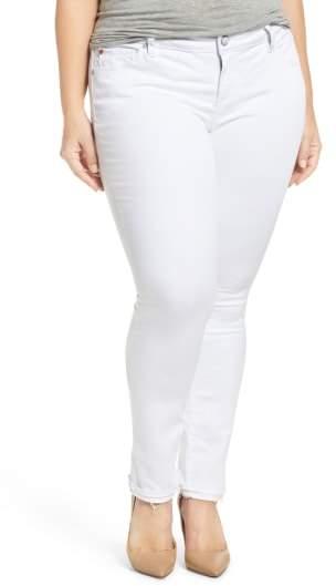 Plus Size Women's Slink Jeans Release Hem Skinny Jeans