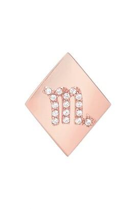 Mini Mini Jewels Frame Diamond Zodiac Sign Earring