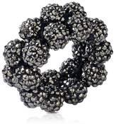 Kim Seybert Shimmer Rock Napkin Ring