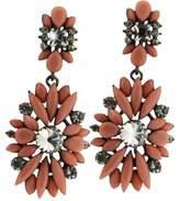 sweet deluxe 3020 Women's Earrings Metal 80 Crystals Pink 60 mm