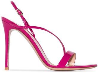 Gianvito Rossi Manhattan 105mm slingback sandals